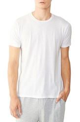 Alternative Apparel Men's 'Perfect' Organic Pima Cotton Crewneck T Shirt White