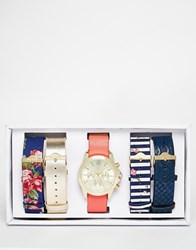 Aldo Brachfeld Multi Strap Watch Multi