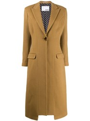 Each X Other Re Sculpted Tailored Coat Brown