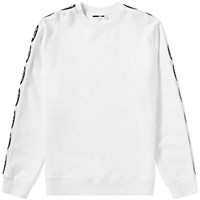 Mcq By Alexander Mcqueen Taped Crew Sweat White