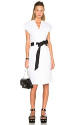 Each X Other Sleeveless Kimono Dress In White