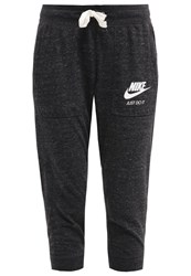 Nike Sportswear Gym Vintage Tracksuit Bottoms Black Sail Mottled Black