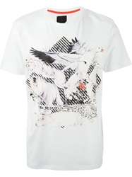 Puma Animal Print T Shirt White