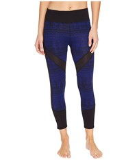 Threads For Thought Bellatrix Leggings Electric Blue Black Women's Clothing