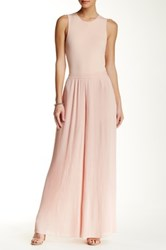 Endless Rose Pleated Jumpsuit Pink
