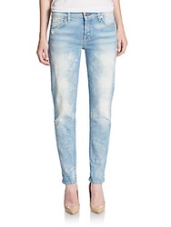 7 For All Mankind Josefina Boyfriend Jeans Light Sky Blue