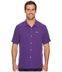 Tommy Bahama Collegiate Series Catalina Twill Louisiana State University Men's Clothing Metallic