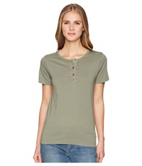 Filson Whidbey Henley Sage Clothing Green