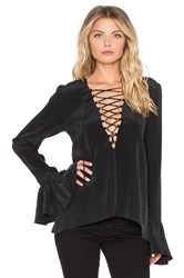 Stone_Cold_Fox Powell Blouse Black