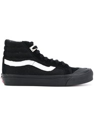 Alyx Hi Top Sneakers Cotton Leather Rubber Black