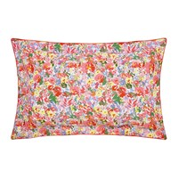Joules Hollyhock Meadow Oxford Pillowcase Multi
