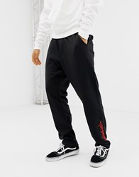 Cheap Monday Joggers In Black With Zips