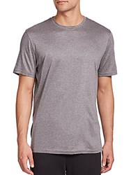 Saks Fifth Avenue Crewneck Tee Grey