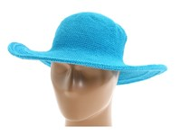 San Diego Hat Company Chl5 Floppy Sun Hat Turquoise Knit Hats Blue