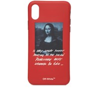 Off White Mona Lisa Iphone X Cover Red