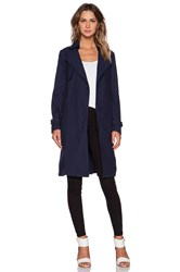 Shades Of Grey Lightweight Trench Blue