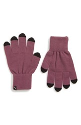 Saturdays Surf Nyc Dylan Touchscreen Gloves Light Plum