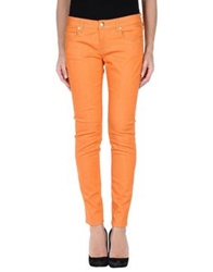 Mauro Grifoni Denim Pants Orange