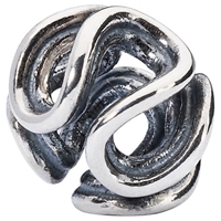 Trollbeads Sterling Silver Path Of Life Bead Silver