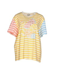 Dress Gallery Topwear T Shirts Women Yellow
