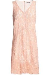 Tart Collections Corded Lace Mini Dress Peach