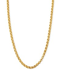 Dina Mackney Rolo Chain Necklace 36 L Gold