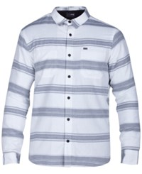 Hurley Men's Port Shirt With Fleece Lining White