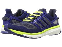 Adidas Engergy Boost 3 Unity Ink White Solar Yellow Men's Running Shoes Blue