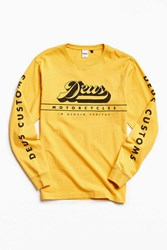 Deus Ex Machina Avocet Long Sleeve Tee Yellow