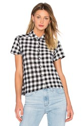 A Fine Line Free Bird Button Up Black And White