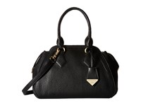 Vivienne Westwood Kensginton Medium Yasmine Black Satchel Handbags