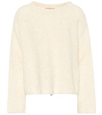 81 Hours Eileen Wool Blend Sweater White