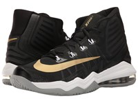 Nike Air Max Audacity Ii Black Metallic Gold Dark Grey Wolf Grey Men's Basketball Shoes