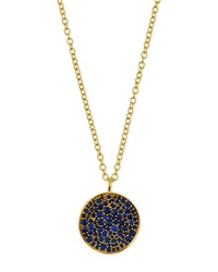 18K Glamazon Stardust Flower Necklace With Blue Sapphires Ippolita