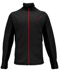 Spyder Constant Zip Performance Sweater Black
