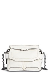 Rag And Bone Micro Pilot Leather Satchel White Optic White
