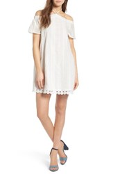 Everly Women's Eyelet Off The Shoulder Dress