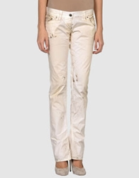 Bad Spirit Casual Pants Ivory