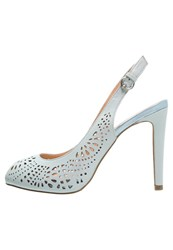 Anna Field Peep Toes Powder Blue
