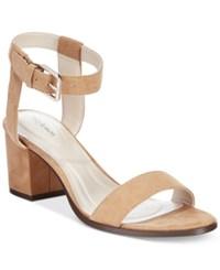 Styleandco. Style And Co. Mullaney Ankle Strap Embellished Sandals Only At Macy's Women's Shoes Natural