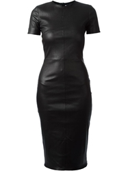 Givenchy Fitted Pencil Dress Black