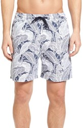 Tailor Vintage Men's Banana Leaves Volley Swim Trunks