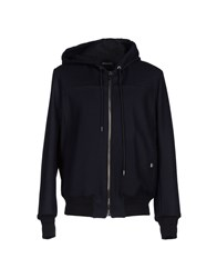 Dirk Bikkembergs Coats And Jackets Jackets Men Dark Blue