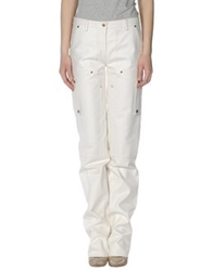 Michael Kors Leather Pants White