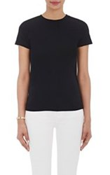 Barneys New York Women's Tech Jersey T Shirt Black