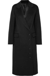 Joseph Signe Wool And Cashmere Blend Felt Coat Black