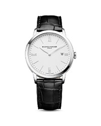Baume And Mercier Classima 10323 Watch 40Mm White Black