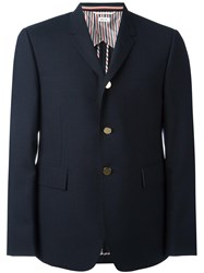Thom Browne Flap Pockets Blazer Blue