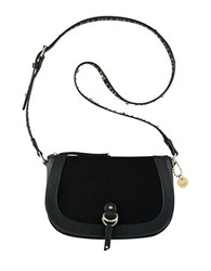 Nine West Evelina Contrast Crossbody Bag Black