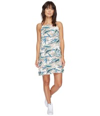 Vans Marie Ii Dress White Sand Tropical Women's Dress Green